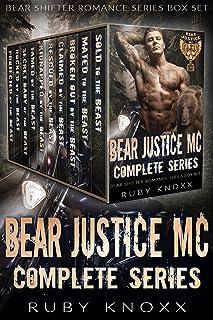 Bear Justice MC Complete Series: Bear Shifter Romance Series Box Set
