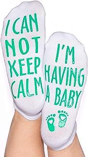 DonnaElite Labor & Delivery Inspirational Non Skid Push Maternity Socks