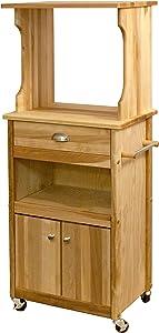 Catskill Craftsmen Hutch Top Cart with Open Storage
