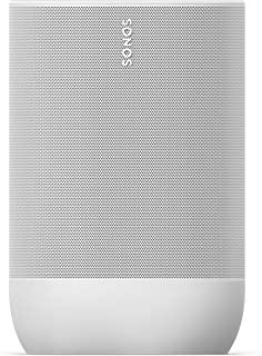 $399 » Sonos Move - Battery-Powered Smart Speaker, Wi-Fi And Bluetooth With Alexa Built-In - Lunar White