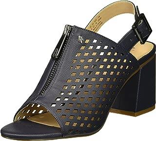 A X Armani Exchange Womens 9450728P458 Perforated Mule Heel Sandal