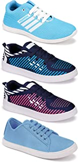 Shoefly Women's (5053-5032-5033-5002) Multicolor Casual Sports Running Shoes (Set of 4 Pair)