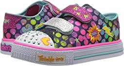 SKECHERS KIDS - Twinkle Toes: Shuffles - Poppin' 10835N Lights (Toddler)