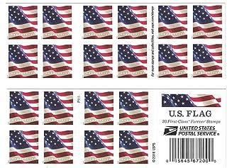 USPS US Flag Forever Postage Stamps - Book of 20