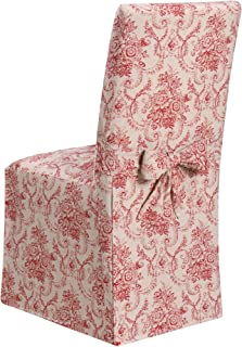 Madison Chateau SLIPCOVER Dining Room Chair SLICOVER, Red