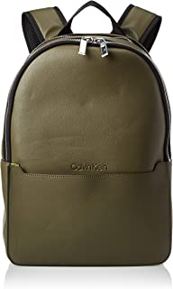 Calvin Klein Backpack for Men-Camouflage/Fluo Yellow