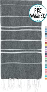 WETCAT Original Turkish Beach Towels (39 x 71) – Prewashed Bath Towel, 100% Cotton..