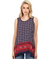 Christin Michaels - Luvleen Printed Top
