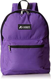 Everest Basic Backpack, Dark Purple, One Size