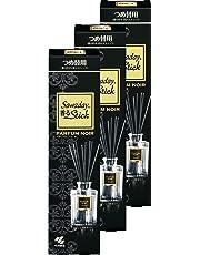 【まとめ買い】サワデー香るスティック 消臭芳香剤 詰め替え用 パルファムノアール 70ml×3個