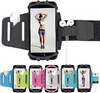 J.A.N-GreenLife Multifunktionales Sportarmband für Smartphones – kompatibel mit nahezu Allen Handys (iPhone, Samsung, Huaw...
