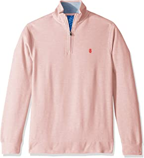 IZOD Men's Saltwater Quarter Zip Pullover