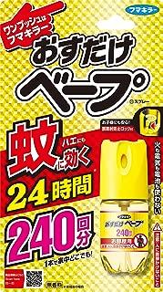 おすだけベープ ワンプッシュ式 蚊取り 殺虫剤 スプレー 240回分 無香料