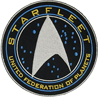 Star Trek Beyond Starfleet United Federation of Planets Halloween Costume Embroidery Patch Easy Iron/Sew On