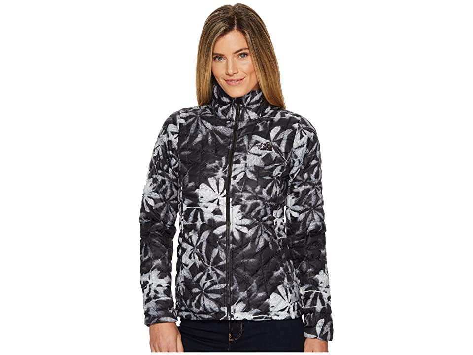 The North Face Thermoball Full Zip Jacket (TNF Black Exploded Lupine Print) Women