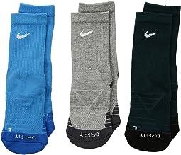 Nike Kids Dri-Fit Cotton Cush Crew (Toddler)