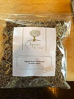Organic Bio Herbs-Organic Dried Wormwood/Mugwort (Artemisia Vulgaris) 6 Oz.