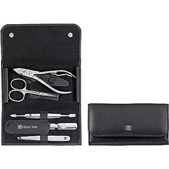 Zwilling Classic Inox 97437-004 - Estuche de manicura de 5 piezas, color negro: Amazon.es: Belleza