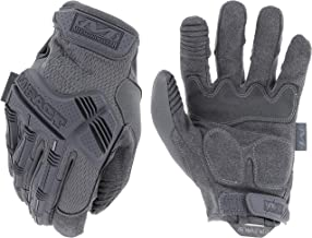 Mechanix Wear: M-Pact Wolf Grey Tactical Work Gloves (X-Large, Grey)