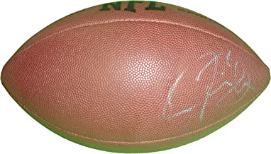 Jacksonville Jaguars Justin Blackmon Autographed Hand Signed NFL Wilson Football with Proof Photo of Signing and COA- OSU Oklahoma State University Cowboys