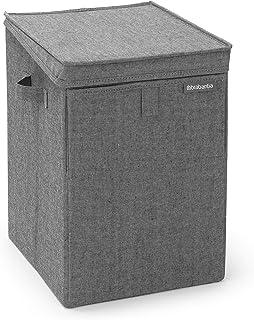 Brabantia - 120442 - Panier à linge empilable 35L, Noir poivré