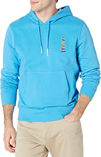 Men's Long Sleeve Polaroid Croc Hooded Sweatshirt