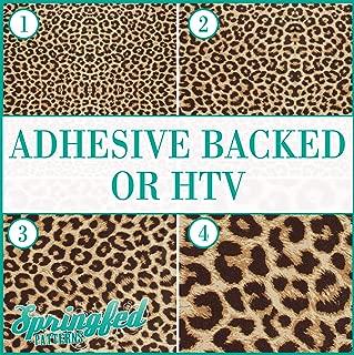 LEOPARD SPOTS PATTERN #1 Pattern #1 Heat Transfer or Adhesive Vinyl CHOOSE YOUR SIZE! Leopard Spots Pattern …