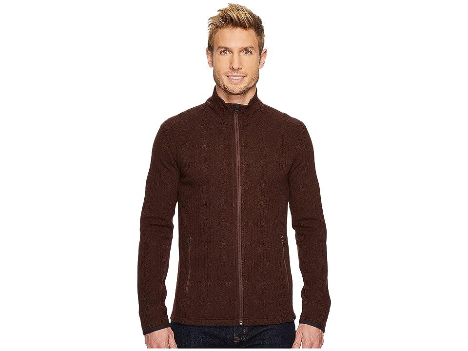 Prana Barclay Sweater (Cocoa) Men
