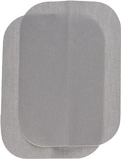 "Wrights BDX230-008.45 Bondex Iron-On Patches 5""X7"" 2/Pkg-Light Grey"