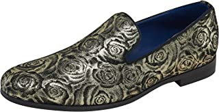 JOUSEN Men's Loafers Velvet Smoking Slipper Luxury Slip On Men Wedding Dress Shoes