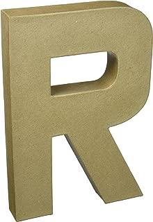 Darice 2861-R Paper Mache Letter 12Inx1.5In