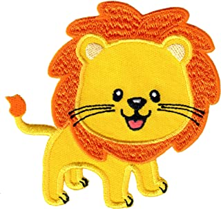 PatchMommy Lion Patch, Iron On/Sew On - Appliques for Kids Children
