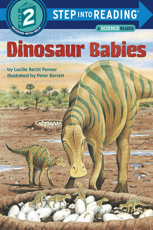 ボルトイブノイズDinosaur Babies (Step into Reading) (English Edition)