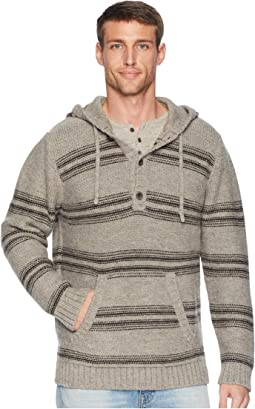 Alpaca Knit Hoodie Sweater