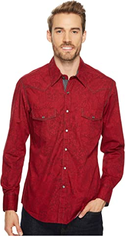 Rock and Roll Cowboy - Long Sleeve Snap B2S4110
