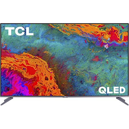 TCL 75S535 75 Inch 5 Series 4K Roku Smart QLED TV (Renewed)