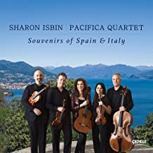 ISBIN,SHARON; PACIFICA QUARTET - Souvenirs of Spain & Italy (2019) LEAK ALBUM