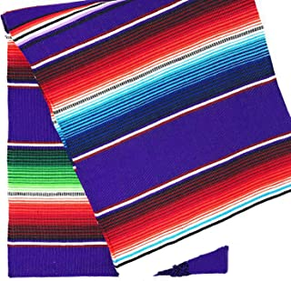 TRLYC Fiesta Themed Party Mexican Blanket Yoga Blanket Serape Tablecloth 57x72 Inch,145cmx180cm
