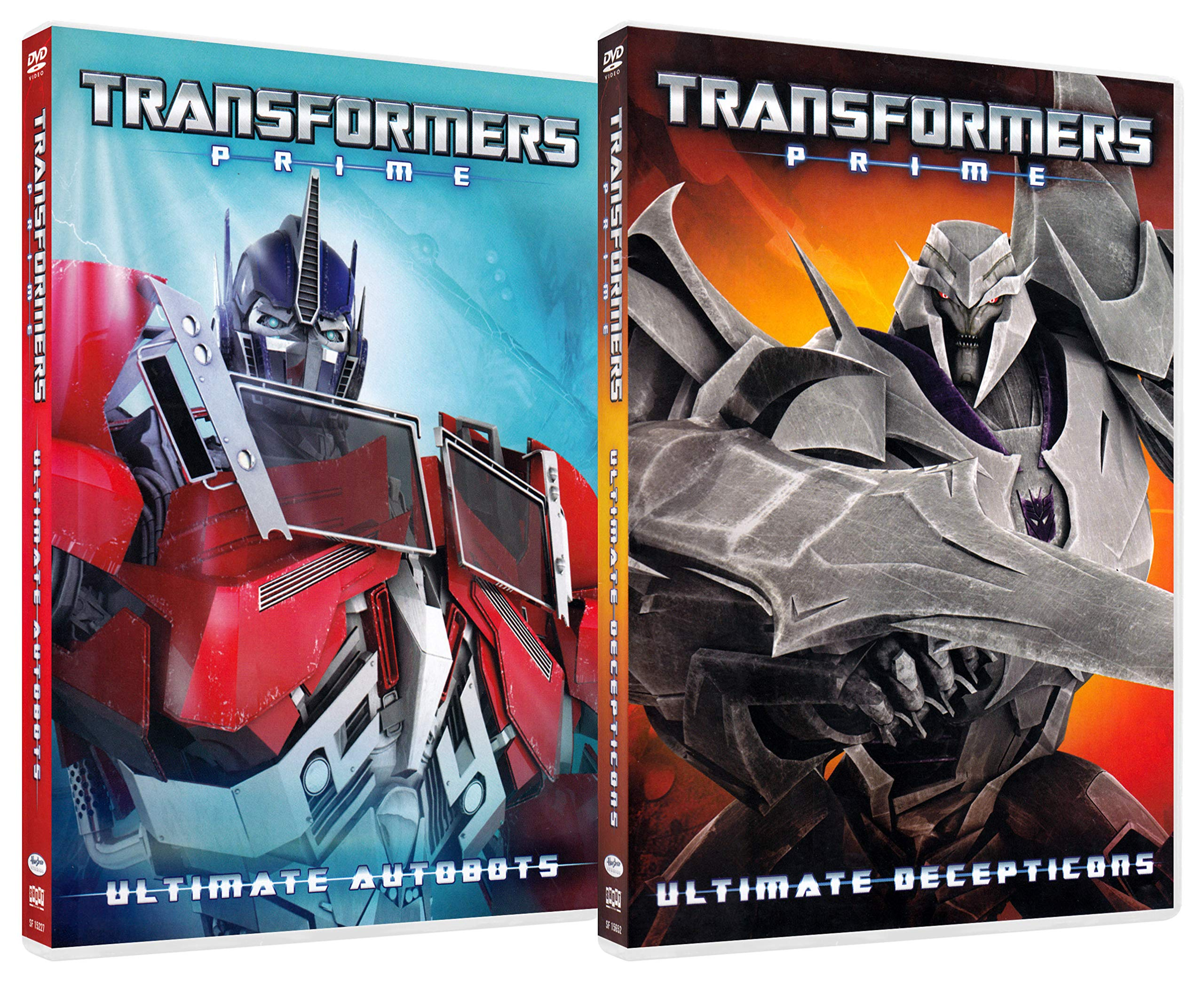 Transformers: Prime (Ultimate Decepticons / Ultimate Autobots) (2-Pack)