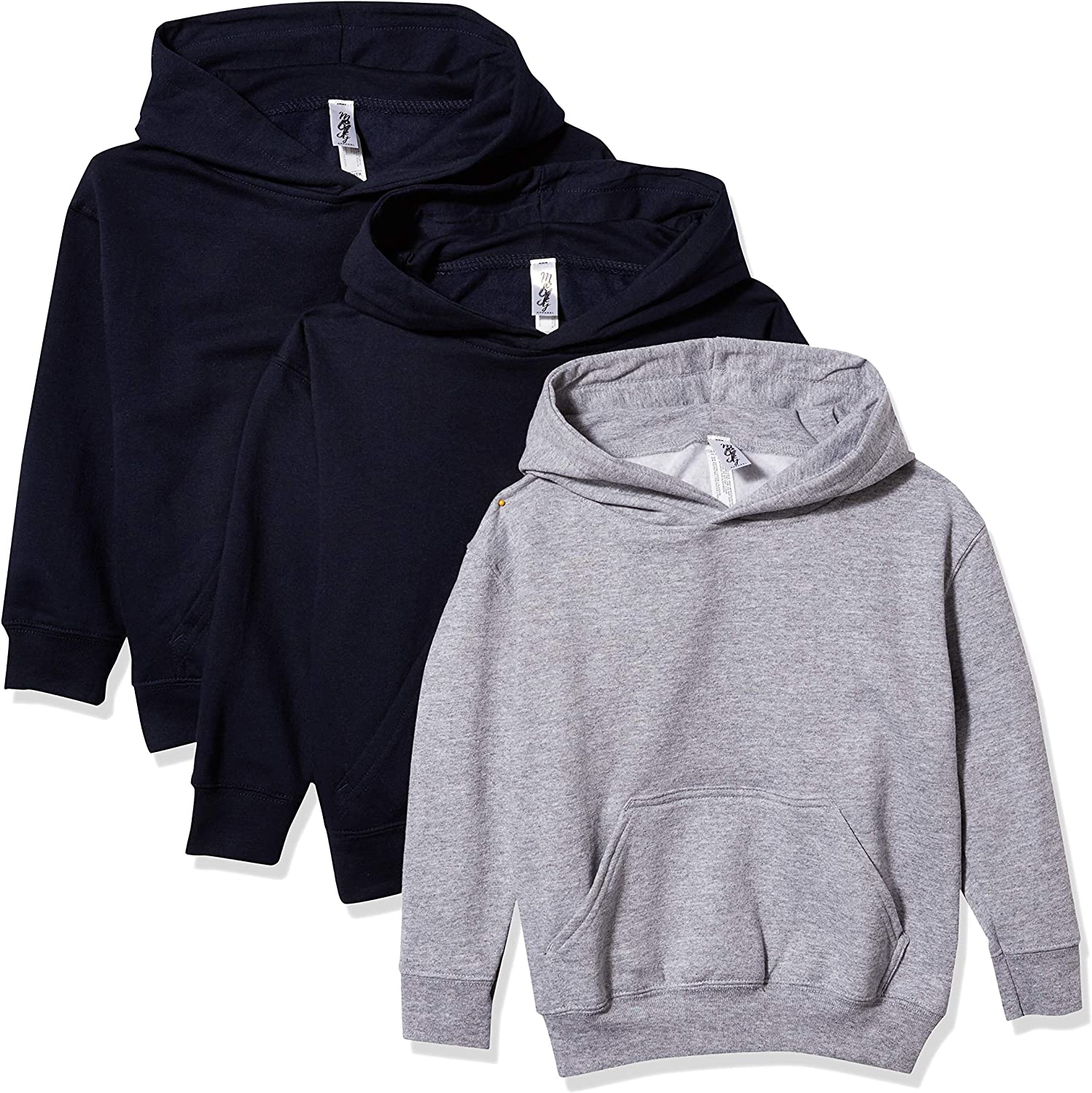 Marky Be super welcome G Apparel Boys' Fleece Long Hoodie Pullover Pack Phoenix Mall o Sleeve
