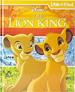 Disney - The Lion King Look and Find Activity Book - PI Kids