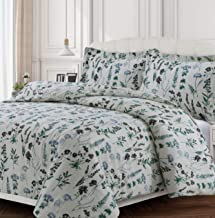 Tribeca Living FLEU170DUVEQU Duvet Set, Queen, Fleur