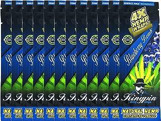 Kingpin Blueberry Hemp Wraps - 12 Packs (48 Total Wraps)