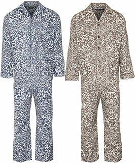 Champion Mens Paisley Brushed Cotton Pyjama (Pack of 2)
