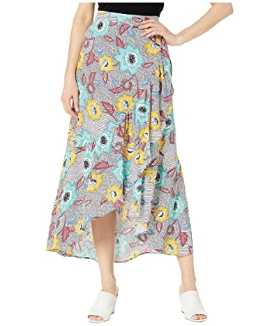 BCBGeneration Midi Sarong Skirt TZB3210762 (Off-White) Women