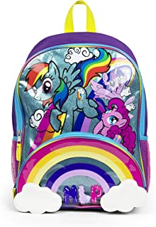 My Little Pony Rainbow Magic Die Cut Cloud Pocket Backpack