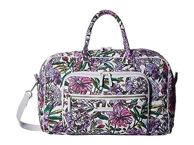Vera Bradley Iconic Compact Weekender Travel Bag (Lavender Meadow) Weekender/Overnight Luggage