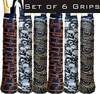 Alien Pros Tennis Racket Grip Tape (6 or 3 Grips) – Tac Moisture Feel Tennis Grip – Tennis Overgrip Grip Tape Tennis Racke...