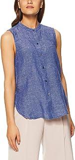 Jag Women's Linen Sleeveless Shirt
