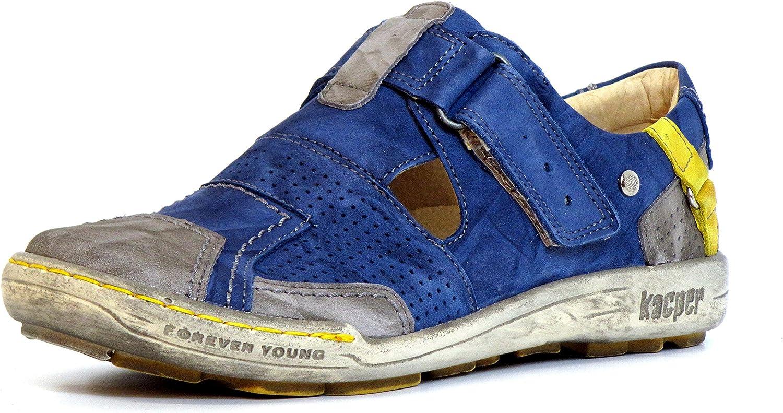 Kacper Women Flat Slipper bluee, (blue-Kombi) 2-4308 460